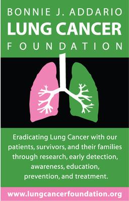 Bonnie J. Addario Logo.  (PRNewsFoto/Bonnie J. Addario Lung Cancer Foundation)
