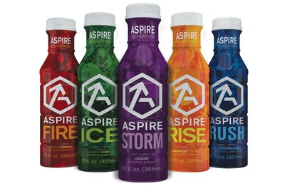 ASPIRE natural sports drinks have been selected by University of Wisconsin Athletics as the exclusive sports drink for its student-athletes in football, basketball, hockey and all other programs at the school.