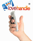 The LoveHandle(R) Universal cell phone and tablet strap attaches to any device with a secure no-residue 3M(R) adhesive.  Text and photograph with one hand and never drop your device.  Never drop your phone again. Patented slim pocket-friendly design.  Available at www.lovehandle.com or call 281-778-2051 for more info (PRNewsFoto/DMD PRODUCTS, LLC)