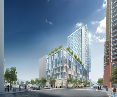 White Lodging announced it will develop a  Marriott hotel in downtown Austin adjacent to the city's convention center . The hotel is scheduled to open in 2019, and is one of two properties announced by the company Wednesday that will add around 1,000 hotel rooms to downtown Austin.