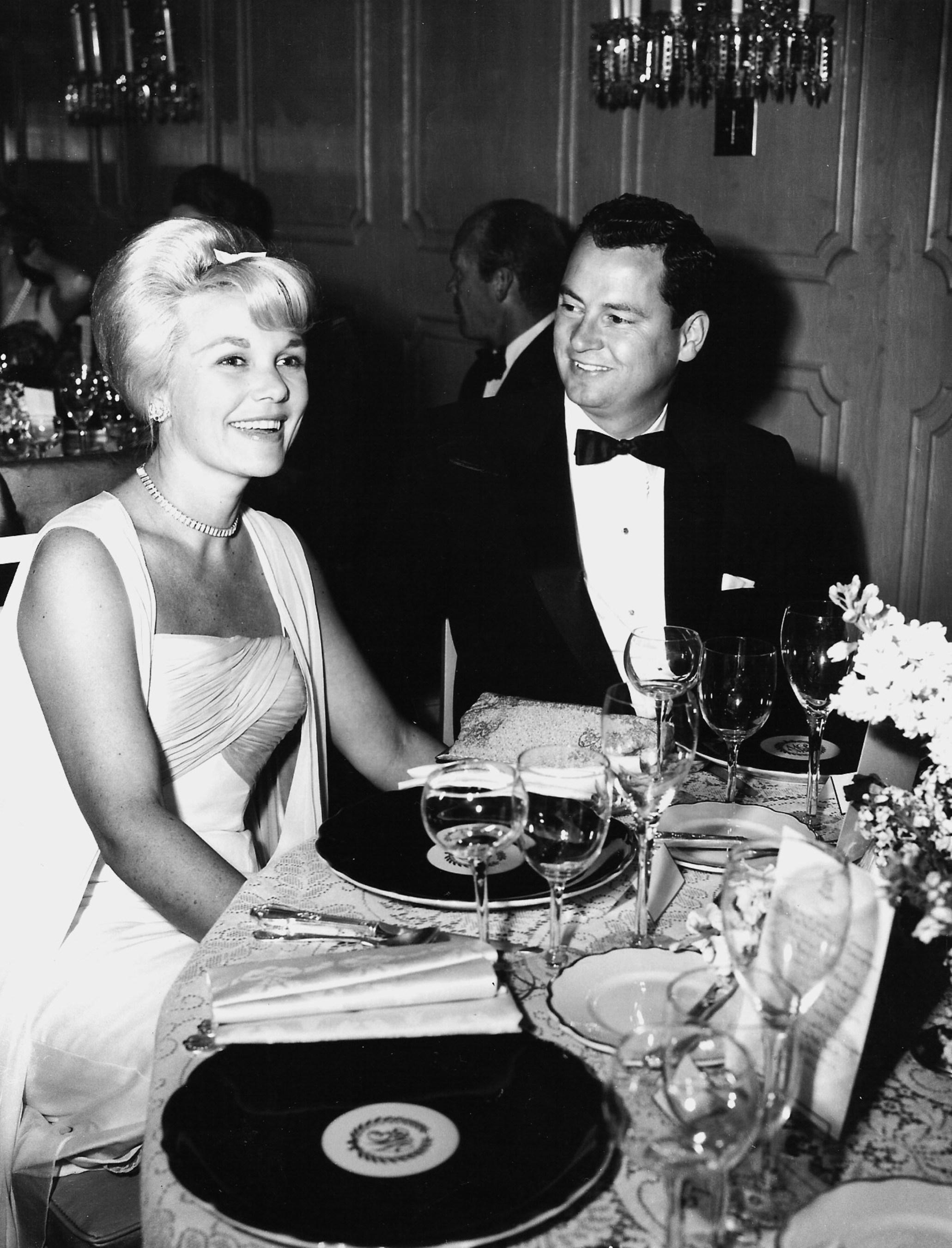 Marilyn and Barron Hilton