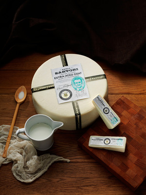 Sartori Artisan Limited Edition Extra-Aged Goat cheese to be released this June. (PRNewsFoto/Sartori Company)