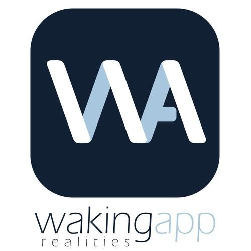WakingApp Logo (PRNewsFoto/WakingApp) (PRNewsFoto/WakingApp)