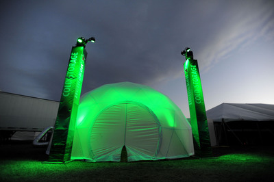 Heineken Opens Cold Storage Room at 2012 Coachella Valley Music and Arts Festival.  (PRNewsFoto/Heineken USA)