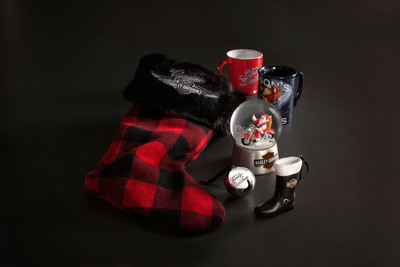 "An assortment of Harley-Davidson holiday collectibles from the new ""naughty list"" gift guide at www.H-D.com/Holiday. The guide features this season's hottest gifts, from cutting-edge motorcycle fashions to apparel that can bring out the ""bad-ass"" in anyone. (PRNewsFoto/Harley-Davidson Motor Company)"