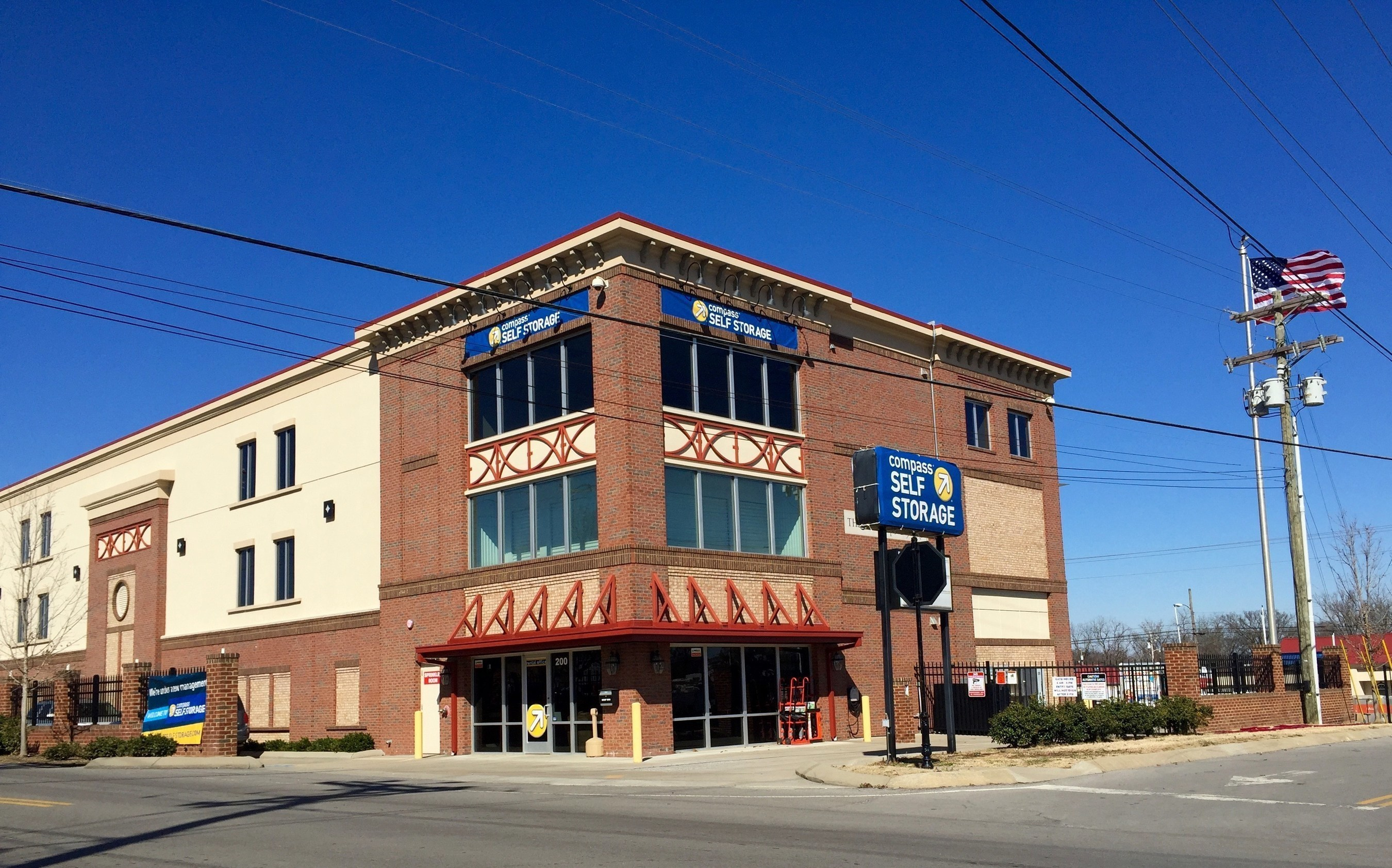 Compass Self Storage Enters the Nashville Market with Acquisition of Four Self Storage Centers.