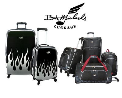 Bret Michaels Luggage Collection available exclusively at Overstock.com