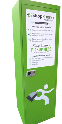 The new ShopRunner PickupPoints cabinets provide a convenient, secure way for consumers to receive packages at ...