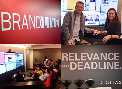"""Digitas Unveils BrandLIVE™, Powered By Real-Time Platform Features """"The Wire,"""" """"The Newsroom"""" and """"The Multicast"""""""