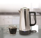New Capresso Perk Stainless Steel Percolator A Trendy Upgrade of a Classic Coffee Maker Design
