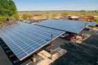 82kW Solar Carport @ Stevinson Ranch Golf Course.  (PRNewsFoto/Cenergy Power)