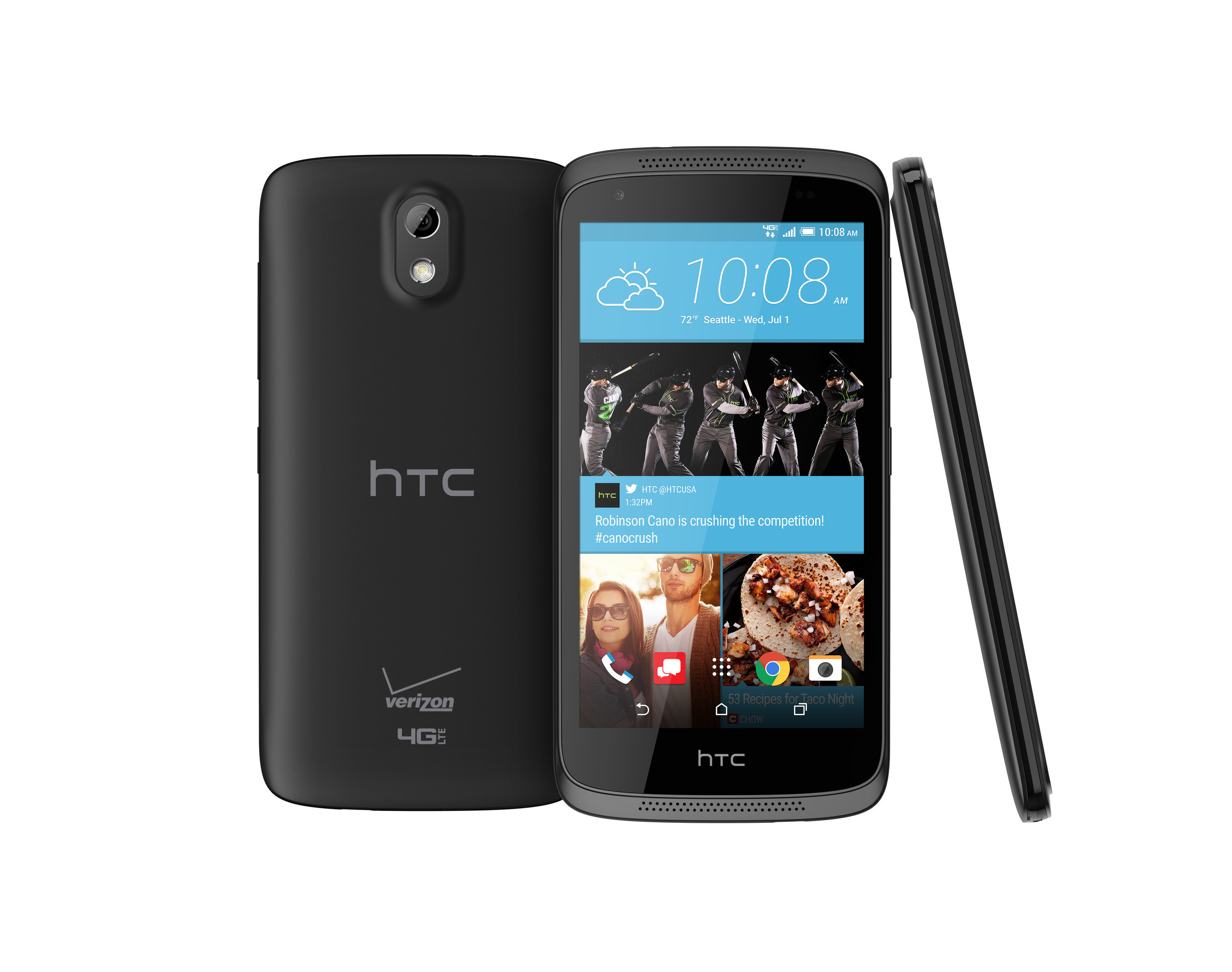 The HTC Desire 526 is one of the new HTC Desire smartphones designed to make premium features affordable and accessible to all.