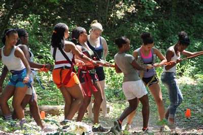 Black Girls Rock! Queens Camp for Leadership.  (PRNewsFoto/BLACK GIRLS ROCK!)