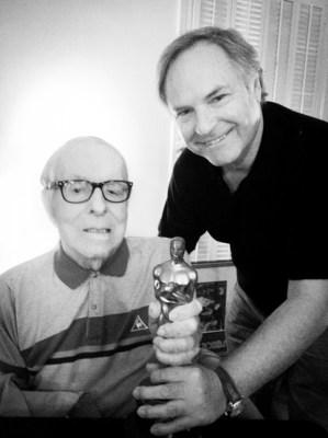 Ray Bradbury with Rodion Nahapetov