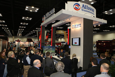 Exhibitors have announced plans to introduce more than 100 new products at The Work Truck Show 2014 through press conferences, in-booth reveals and the New Product Spotlight and Green Product Showcase programs.  (PRNewsFoto/NTEA)