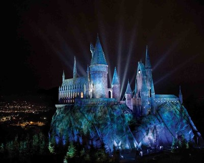 """The Wizarding World of Harry Potter"" opens at Universal Studios Hollywood on Thursday, April 7, 2016. HARRY POTTER, characters, names and related indicia are trademarks of and (C) Warner Bros. Entertainment Inc. Harry Potter Publishing Rights (C) JKR. (s15) (C)2015 Universal Studios. All Rights Reserved."