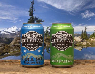Kulshan Brewing Company has expanded its packaging mix offering two of its beers in Rexam 12 oz. cans.