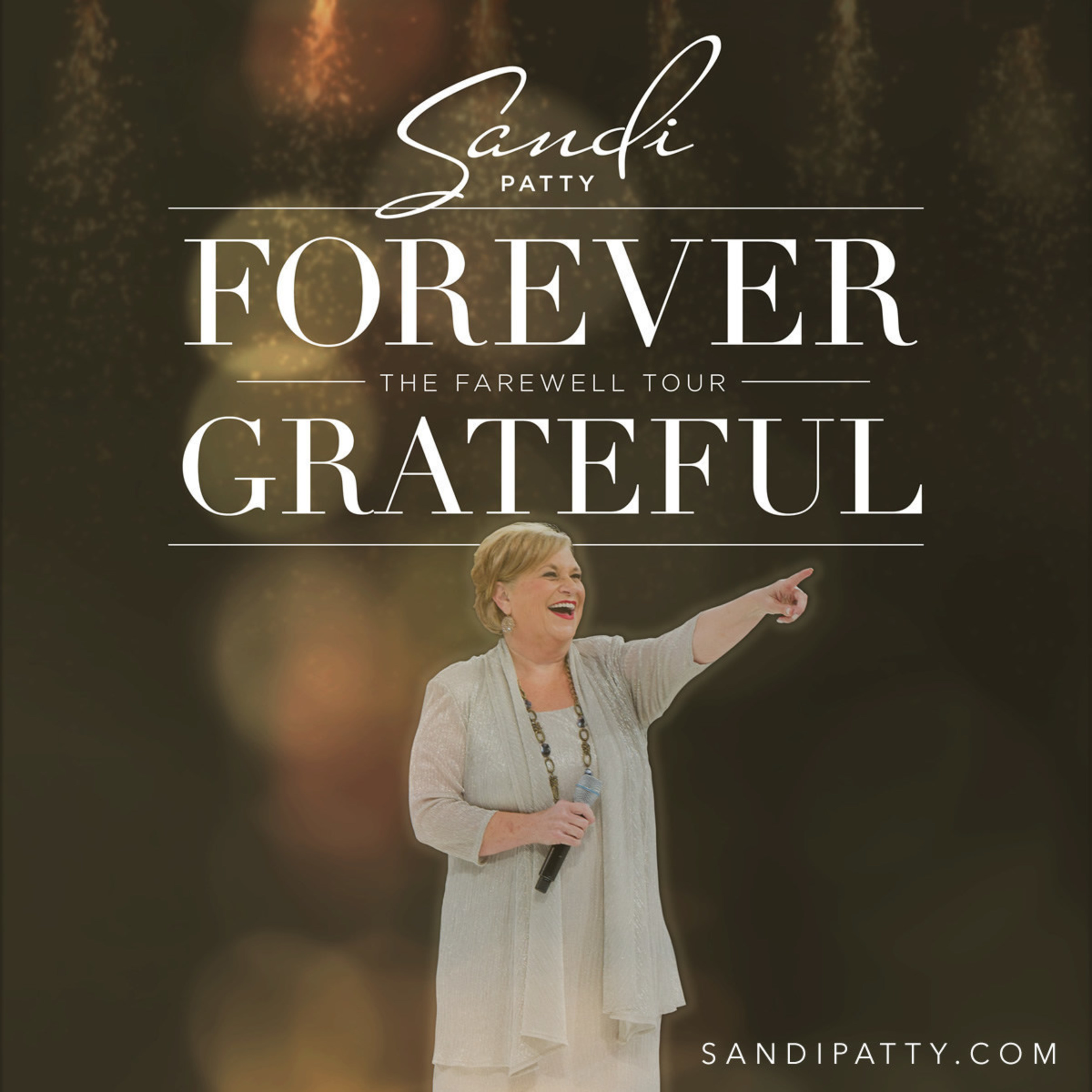 Five-Time Grammy' Award Winning Music Great Sandi Patty Announces 'Forever Grateful: The Farewell Tour' And New Album, Forever Grateful