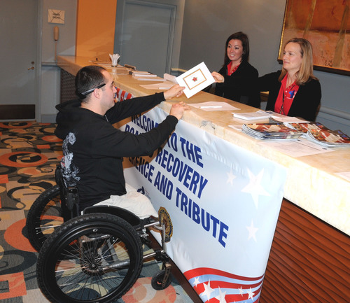 Coalition to Salute America's Heroes Distributes $50,000 in Christmas Checks to Wounded Warriors