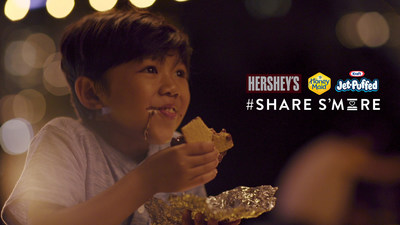 "The ""#ShareSmore - First S'more"" film is part of a larger partnership between Honey Maid, Hershey's and Jet-Puffed celebrating s'mores this summer."