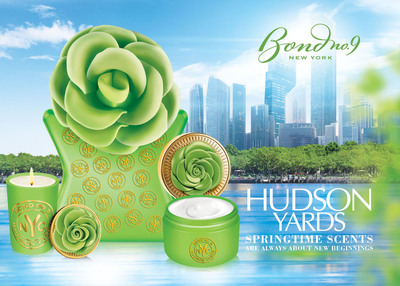 Bond No. 9's springtime scents are always about new beginnings.  But our dewy fresh spring 2014 eau de parfum celebrates a new beginning that hasn't even begun yet. Its name? Hudson Yards.