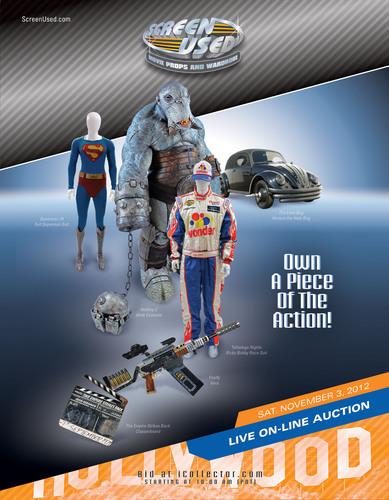 ScreenUsed Auction Catalog.  (PRNewsFoto/ScreenUsed)