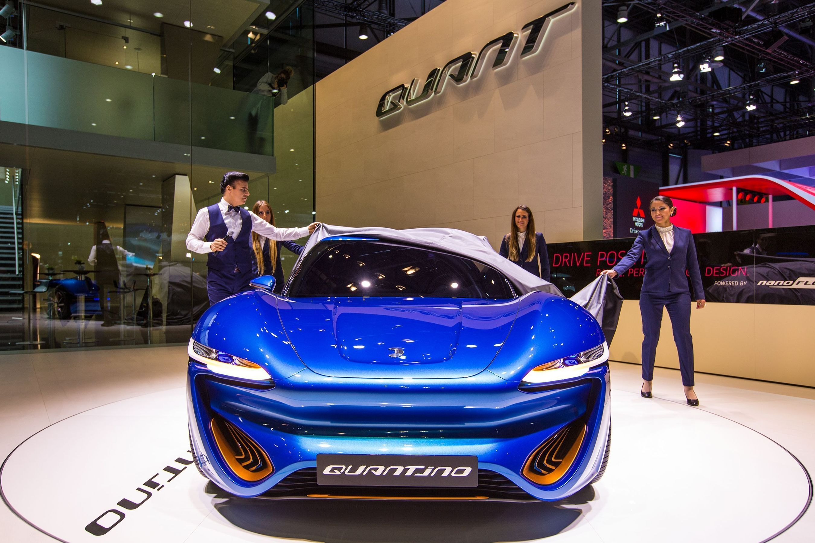 Two Successful World Premieres at the Geneva International Motor Show: QUANT F and QUANTiNO Impress Visitors at the Show 'This Geneva Motor Show Is Going to Be QUANTasti