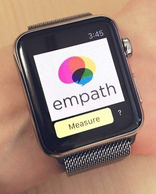 EmoWatch app identifies and tracks users' emotions from their voices, regardless of language, by analyzing multiple vocal properties such as intonation, pitch, speed, and volume.
