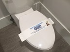 QOL's Branded Biodegradable Toilet Seat Wraps