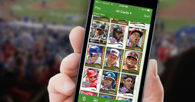 Hundreds of digital baseball cards to collect on your iPhone in Topps BUNT 2014.