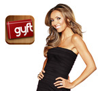 Manipulated Image. Giuliana Rancic Partners with Gyft. Gyft is a free mobile app that allows users to buy, send, redeem and store gift cards all in one place. With over 200 merchants, Gyft provides an elegant gift card experience with convenient digital organization, security and location alert features. Gyft is seamlessly integrated with Facebook so users can send gift cards to their friends around special events. Gyft is a private company funded by Google Ventures, Founder Collective and 500 Startups, with offices in San Francisco. To download the Gyft app, go to iTunes or Google play. To learn more, visit www.gyft.com.  (PRNewsFoto/Gyft)