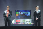 "Mr. Hao Yi, Chief Executive Officer of TCL Multimedia and Mr. Gong Yu, Chief Executive Officer of iQIYI to jointly launch a new product ""TCL-iQIYI TV+"".  (PRNewsFoto/TCL Multimedia Technology Holdings Limited)"