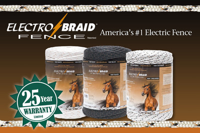 ElectroBraid Offers 25 Year Product Performance Warranty