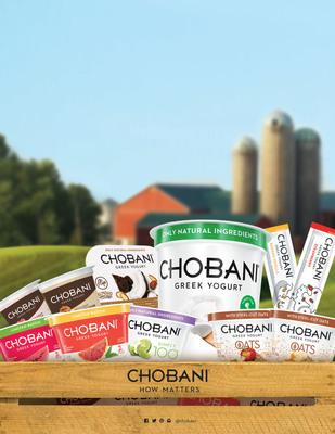 Chobani Introduces product innovations that push Greek Yogurt beyond breakfast. (PRNewsFoto/Chobani, LLC)