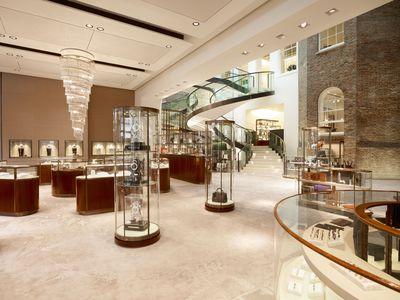 The Asprey store at 167 New Bond Street. (PRNewsFoto/Asprey)