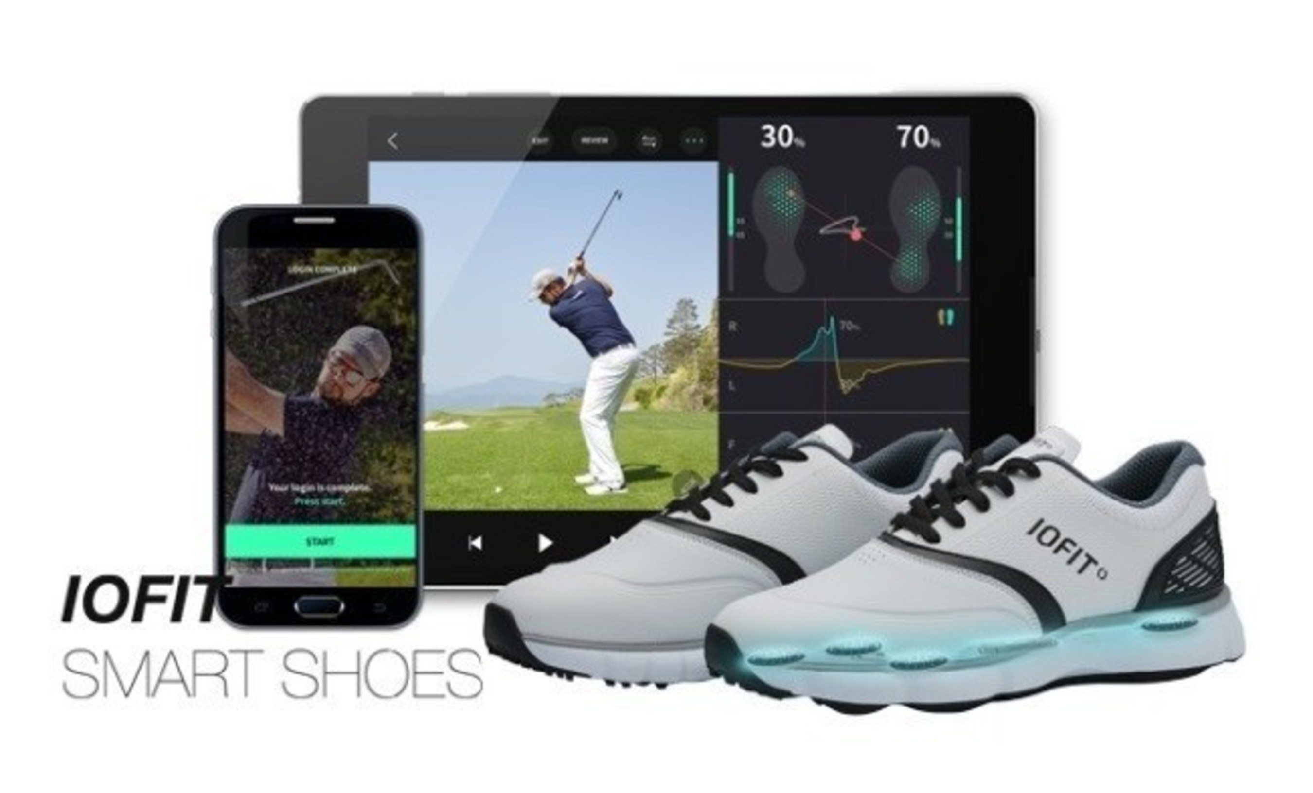 Salted Venture's independently developed smart golf shoes, Iofit, will be receiving the Innovation Award at CES 2017, the world's largest electronics expo