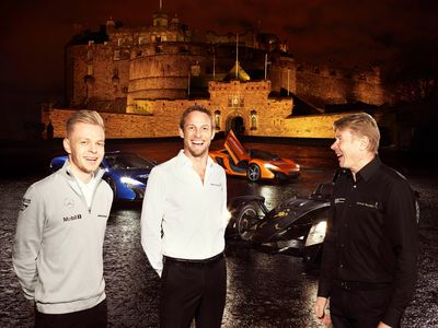 Former Formula 1 driver and JOHNNIE WALKER Global Responsible Drinking Ambassador, Mika Hakkinen, came together with Formula 1 drivers Jenson Button and Kevin Magnussen to help launch a JOHNNIE WALKER responsible drinking initiative for the festive season, to give 250,000 kilometres of safe rides home as part of Join the Pact