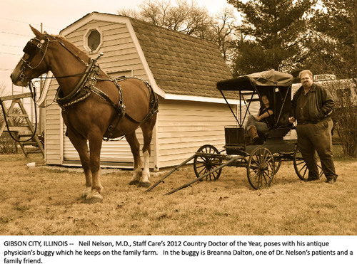 Physician, Pharmacist, Farmer, Deputy Named 2012 Country Doctor of the Year
