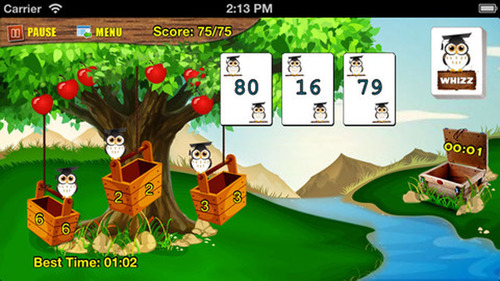 Whizz On Add, Mathematics game for children launched.  (PRNewsFoto/Whizz-on-add)