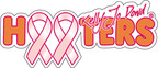 Hooters  Makes $200,000 Donation to Breast Cancer Research contributing to the $2 Million Kelly Jo Dowd Grant.  (PRNewsFoto/Hooters of America, LLC)
