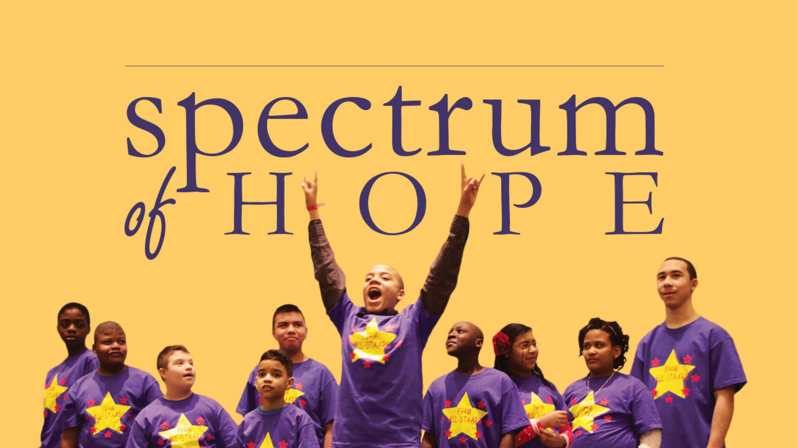 SPECTRUM OF HOPE: An Inspiring Film About Students, Teachers And The Power Of Arts Education Available Via SundanceNow Doc Club In Time For April Autism Awareness Month