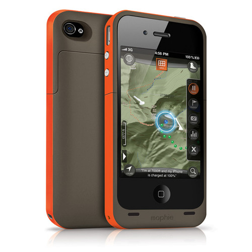 mophie Delivers Power and Navigation With New juice pack outdoor edition