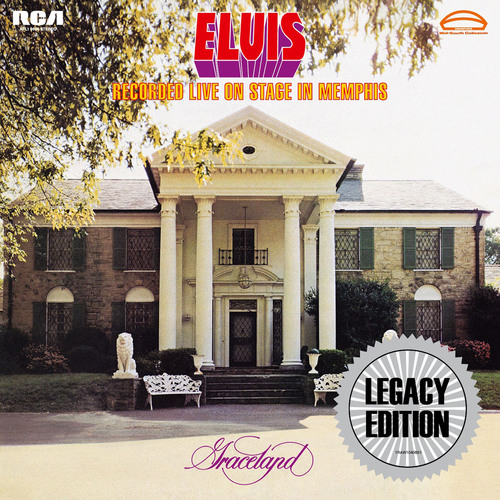 """""""Elvis Recorded Live On Stage In Memphis"""" to be released March 18. (PRNewsFoto/Legacy Recordings) ..."""