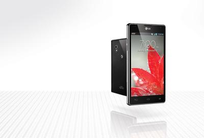 LG Optimus G from AT&T.  (PRNewsFoto/LG Electronics USA)