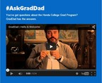 #GradDad is a new campaign from Honda Financial Services that seeks to connect with recent college grads.