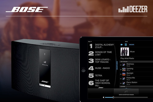 Deezer Brings Deezer Premium Plus to U.S. Music Fans for the First Time Through Bose Products (PRNewsFoto/Deezer)