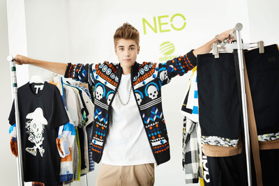 Justin Bieber spoke of NEO as the newest addition to a brand he has always loved.