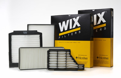 As summer turns to fall, beach trips become mountain drives and, with all that fresh air, it's a great time to switch to WIX(R) Filters' cabin air filters with Microban(R) antimicrobial product protection. For more information, visit www.wixfilters.com.