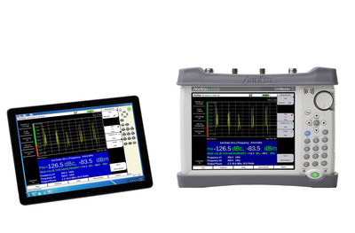 Anritsu introduces remote control capability for its industry-leading handheld test instruments.  (PRNewsFoto/Anritsu Company)