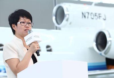 Kathy Liu, Director, Asia Region, Dassault Falcon Customer Service